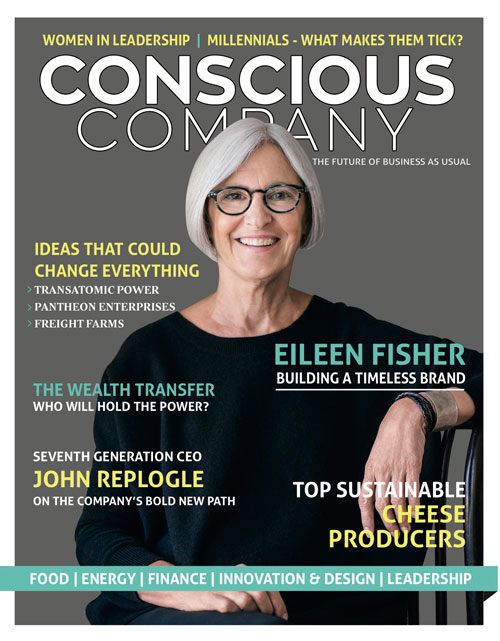 Conscious-Company-Magazine-Cover-featuring-Eileen-Fisher-Timeless-and-Sustainable-Brand