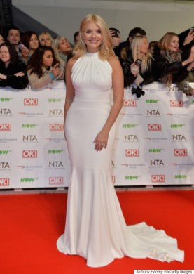 LONDON, ENGLAND - JANUARY 20: Holly Willoughby attends the 21st National Television Awards at The O2 Arena on January 20, 2016 in London, England. (Photo by Anthony Harvey/Getty Images)