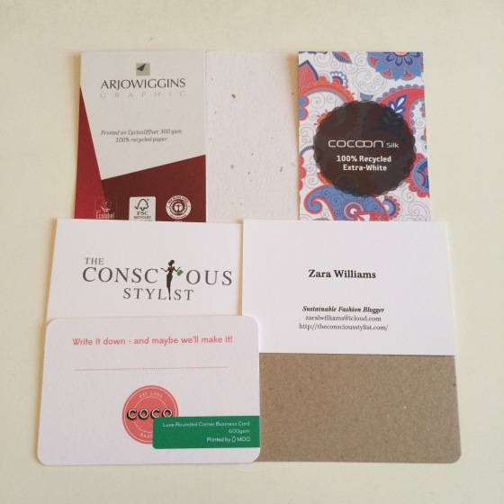 Eco business cards zara williams eco friendly business cards for the perfect first impression colourmoves