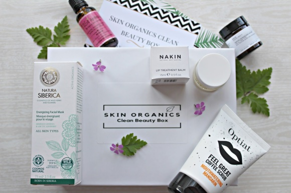 Skin Organics Beauty box